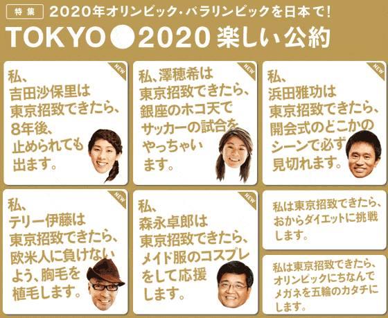 オリンピック東京開催おめでとう...